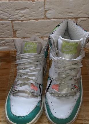 Кожаные кроссовки nike court force оригинал2 фото