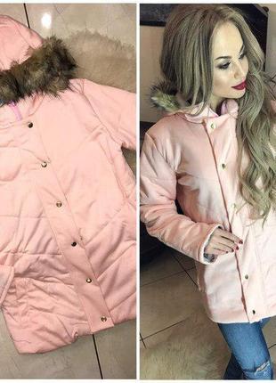Женская прямая куртка