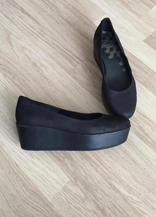 Туфли кожаные на платформе vagabond 38 размер