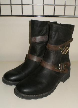 Ботинки marco tozzi (марко тоцци) 39р9 фото
