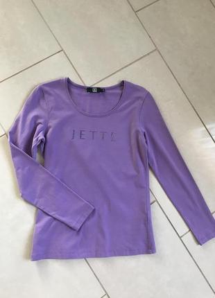 Реглан трикотажный стильный модный дорогой бренд jette размерs-m