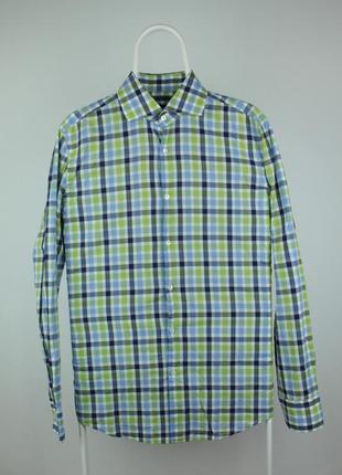 Шикарная оригинальная рубашка hugo boss slim fit business shirt 'jaron'