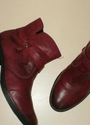 Демисезонные  ботинки rieker (рикер) 38р