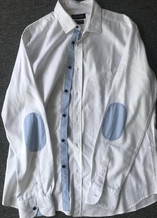 Рубашка мужская massimo dutti. размер l/m