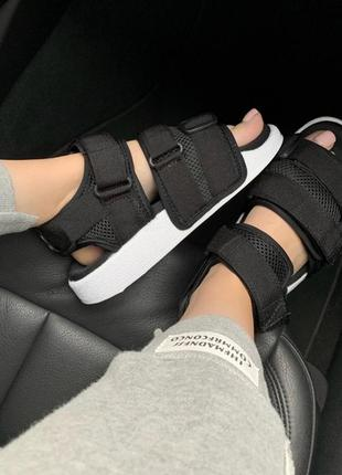 Крутые босоножки 🔥 adidas sandal black🔥 на лето