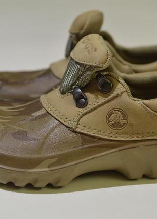 Кроксы, сабо, шлепанцы crocs axle camo all-terrain waterproof kids