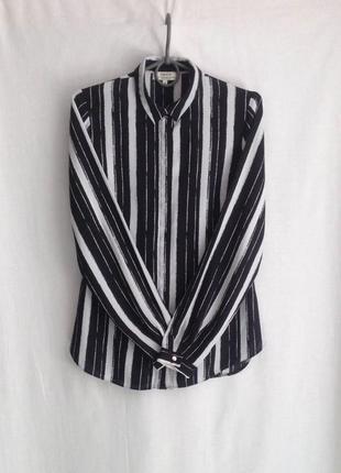 Стильная блузка в полоску