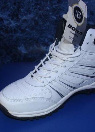 Зимние кожаные ботинки bona 40 размер