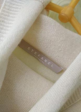 Кашемировый гольф свитер stefanel2 фото
