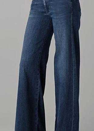 Стильные джинсы палаццо бохо-стайл р.29