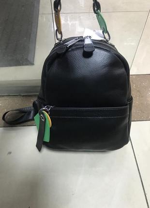 Кожаный рюкзак рюкзак кожаный чёрный