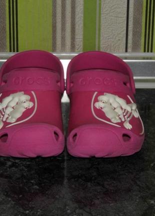 Кроксы  crocs - 12/13 -  19.5 размер - стелька - 19.5 см.- оригинал
