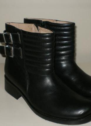 Кожаные ботинки san marina (сан марина) 39р
