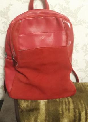Рюкзак красний