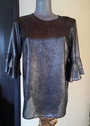 Блуза с напылением