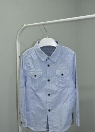 Классная рубашка glo-story на 3-4года