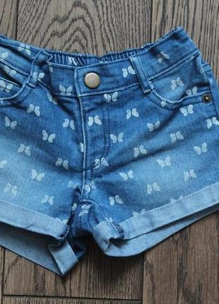 Шорты джинсовые для девочки ,р.2-4 года