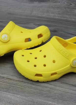 Сабо босоножки crocs yellow 29 размер