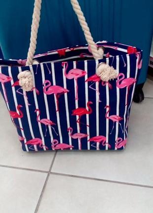Стильная пляжная сумочка