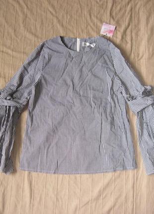 Chicwish (xs/s) рубашка с расклешенными рукавами