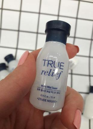 Тонер etude house true relief moist mist toner