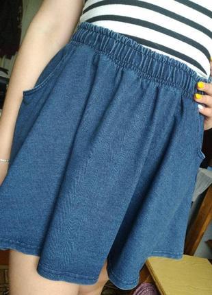 Стильна юбочка ( під джинс ) від marks & spencer