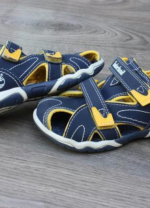 Сандалии босоножки с закрытым носком timberland оригинал 29 размер