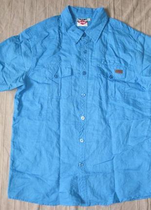 Lee cooper (м) рубашка мужская натуральная