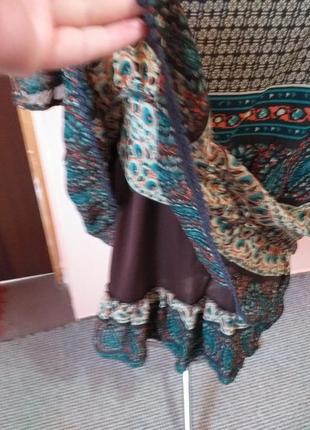 Платье туника шифоновая  в стиле бохо раз.18/2095 фото