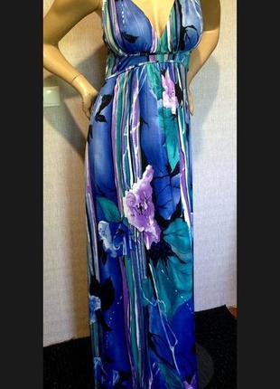 Красивое длинное платье boohoo
