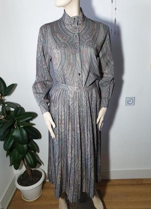 Шерстяной костюм jaeger