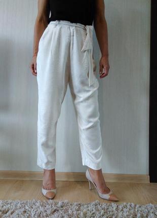Стильные легкие брюки h&m р 40