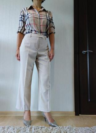 Шерстяные классические брюки betty barclay р 42