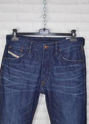 Diesel w 32 l32  джинсы синие мужские дизель с потертостями bravefort