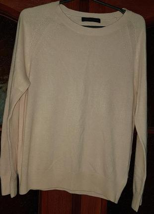 Мягенький нежный джемпер свитер. цвет пудра. наш 46-50рр