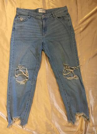 Свободные широкие джинсы denim reserved
