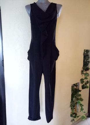 Комбинезон с узкими брюками