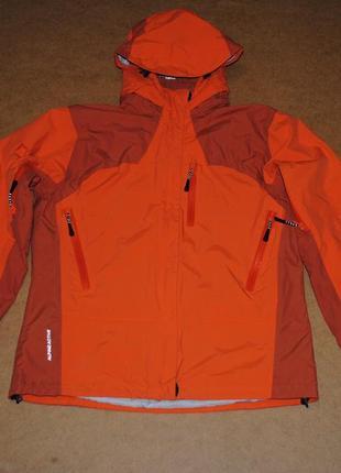 Salewa мужская куртка штормовка яркая