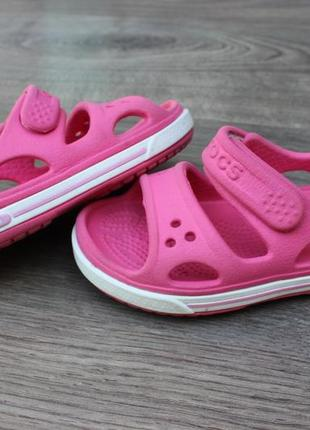 Сандалии босоножки crocs pink 23-24 размер