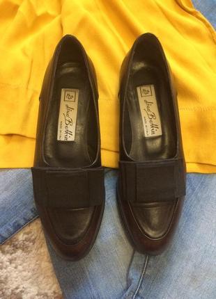 Фирменные кожаные лоферы vero cuoio italy,туфли,туфельки,балетки+подарок