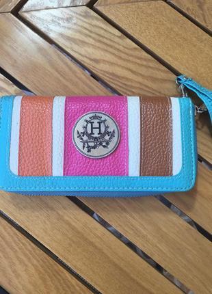 Стильный кошелёк hermes