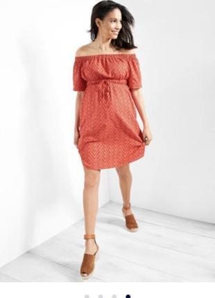 Красивое платье для беременных gap