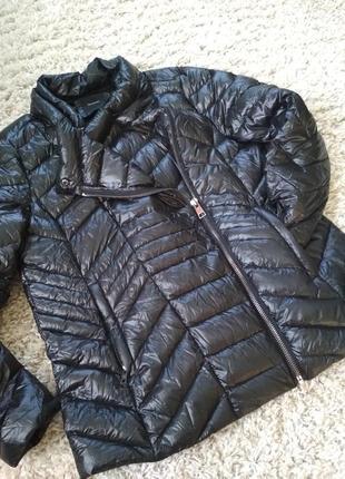 Мега лёгкая стильная куртка пуховик,косуха, yessica, p. 44-46
