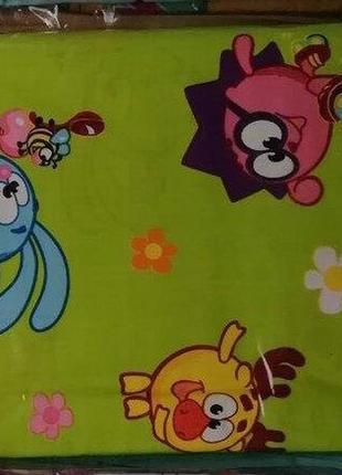 Качественное детское постельное белье смешарики