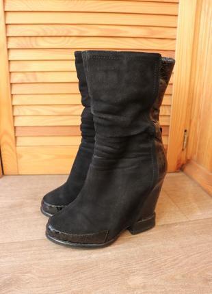 Итальянские ботинки/сапожки mallanee