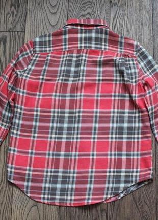 Рубашка хлопковая для мальчика polo ralph lauren,р.8-9 лет5 фото