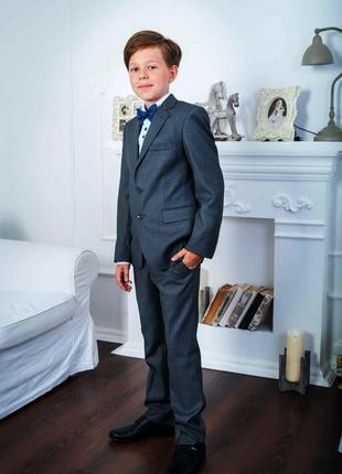 Школьный классический костюм herdal на мальчика 7 лет