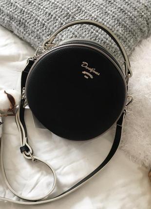 Кругла сумка david jones з нової колекції (весна-літо 2019р)