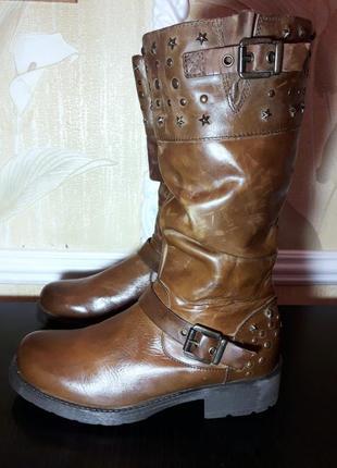 Распродажа кожаной обуви по 50 100 грн! кожаные немецкие сапоги bama, сапожки