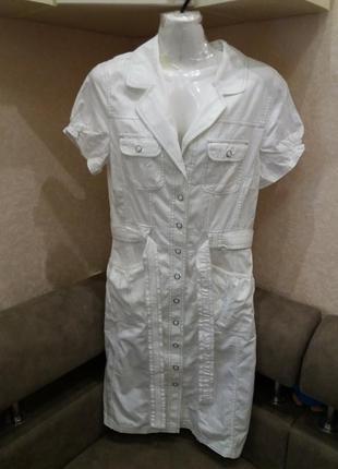 Платье  полуспорт  в стиле сафари-бренд- tcm- 10 12р